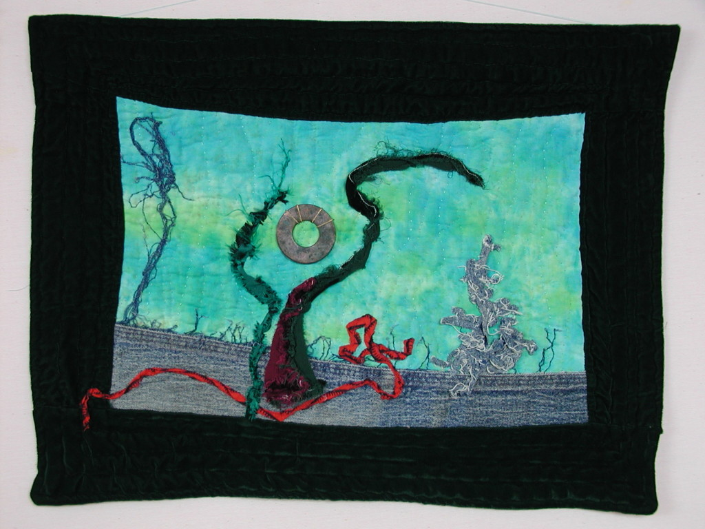 """""""Salvador Dali's First Quilt"""" is a tribute by Kristin Miller"""